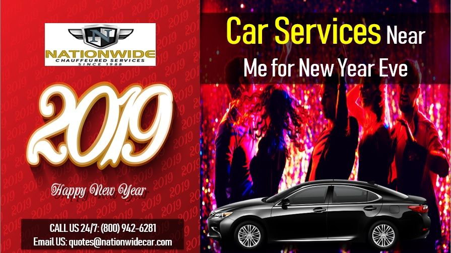 Car Services Near Me for New Year Eve Party bus rental