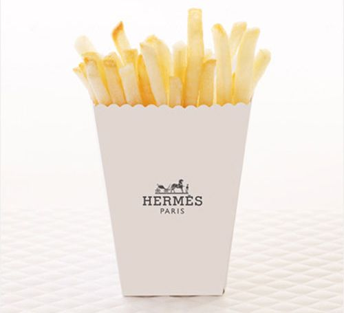 fries by hermes? delicious.