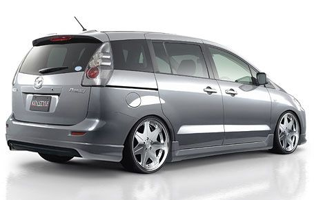 Totally Gonna Set Up My Mazda 5 Like This Except Probably Black 7 Spoke Wheels