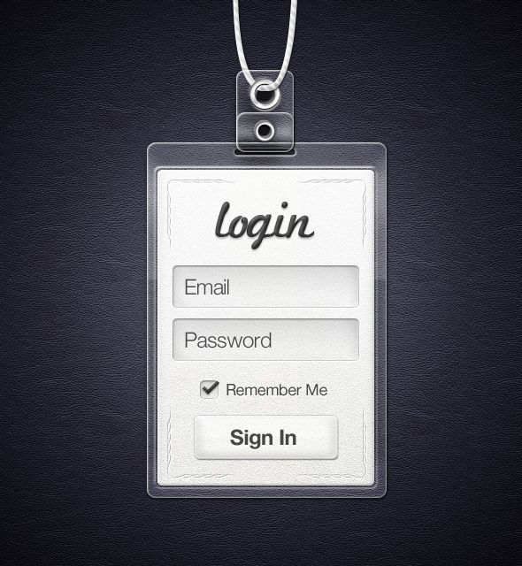 ui login leather texture background and special pass feel around