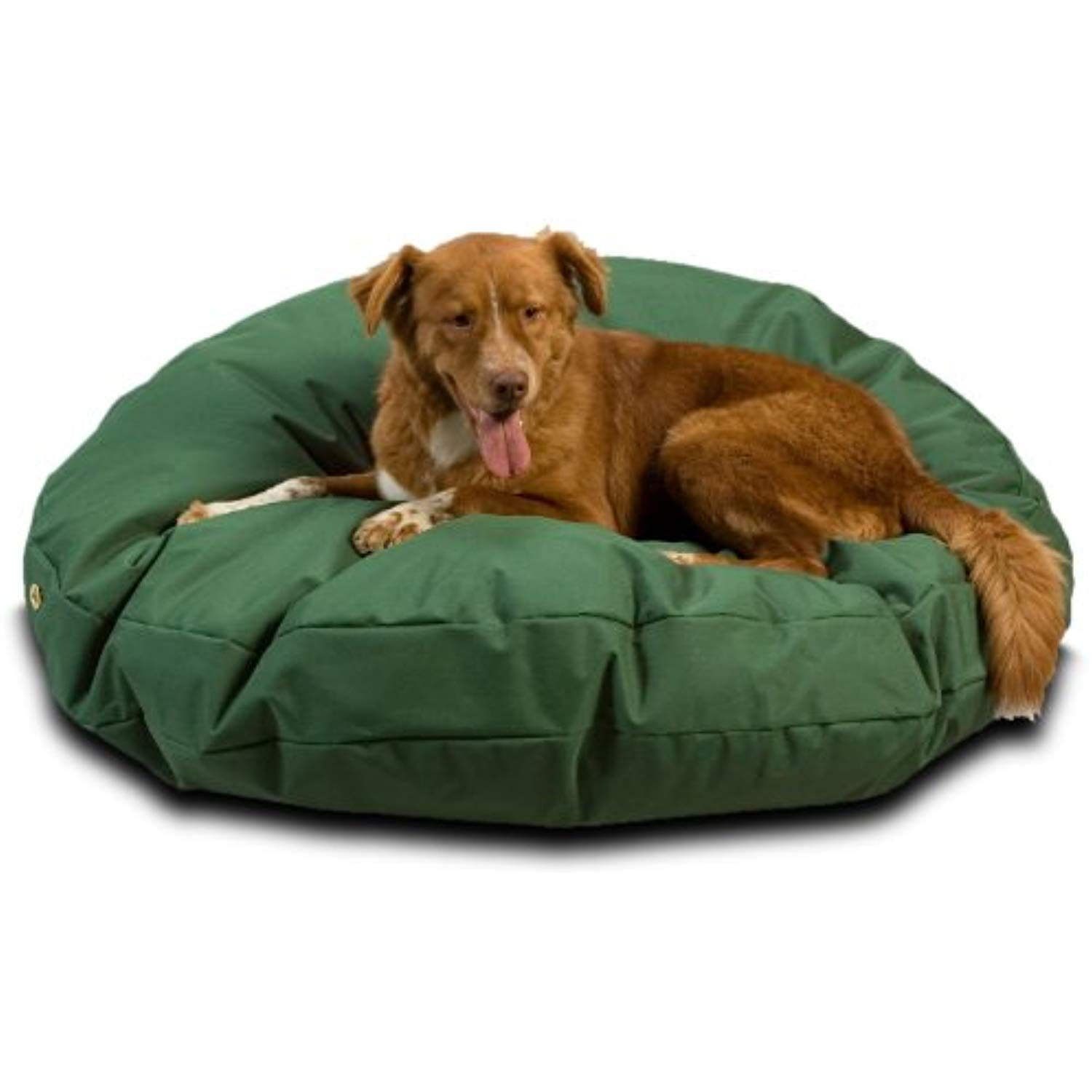 Snoozer Waterproof Round Pet Bed Large Green 48 Inch Visit The Image Link More Details This Is An Affil Waterproof Dog Bed Dog Bed Large Round Dog Bed