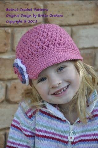 Resultado De Imagen De Free Crochet Newsboy Hat Patterns For Women