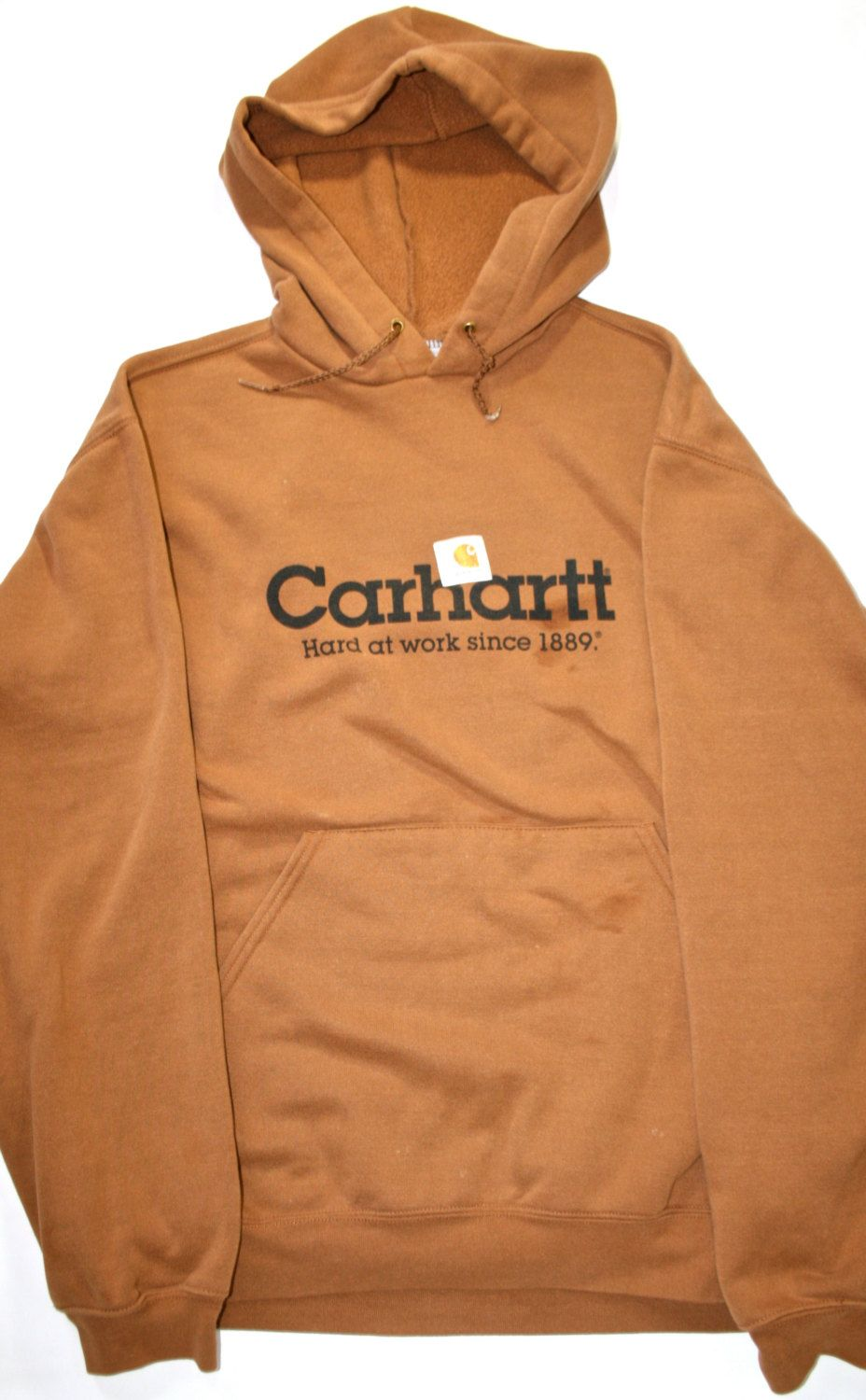 89bc5be6fda Vintage Carhartt Workwear Sweatshirt Mens Size XL.  28.00