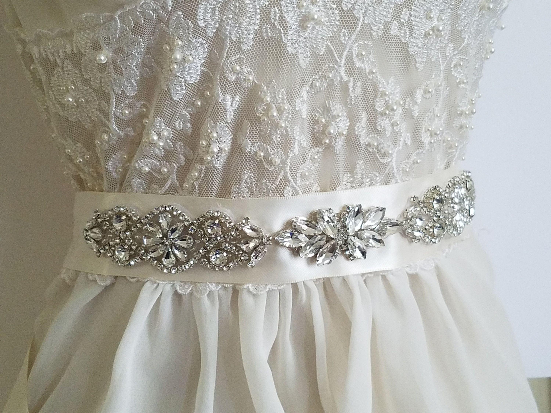 Pin On Wedding Dress Sash Belt