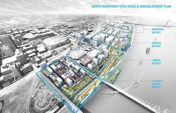 North Riverfront Open Space And Redevelopment Plan Urban Design