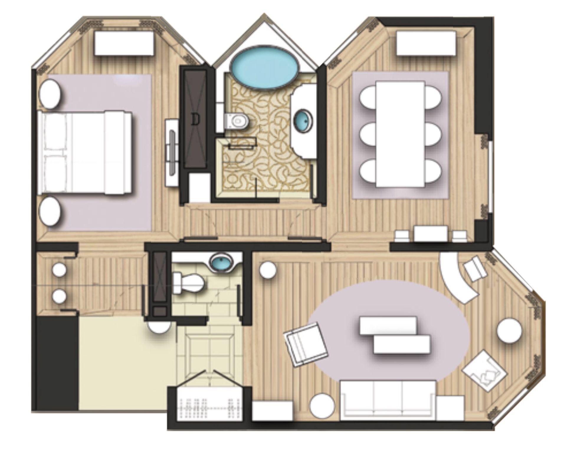 The Langham Hong Kong Director Suite 89m 948ft Suite Hotel Suites Bedroom Suite