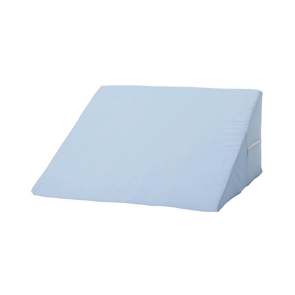 foam wedge pillow bed support back sleep comfort lumbar cushion acid