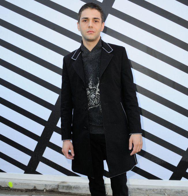 Xavier Dolan au défilé Louis Vuitton