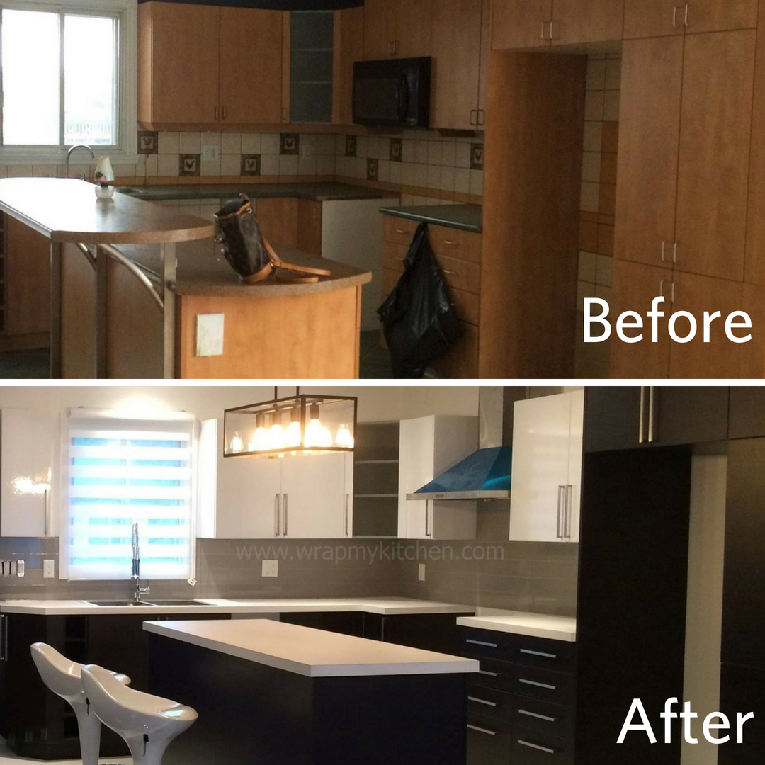 Wrap My Kitchen Makes Remolding Easy Kitchen Home Kitchen