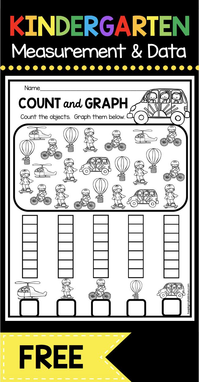 Measurement And Data Kindergarten Math Unit Freebies Keeping My Kiddo Busy Kindergarten Math Units Graphing Kindergarten Kindergarten Math Activities [ 1250 x 652 Pixel ]