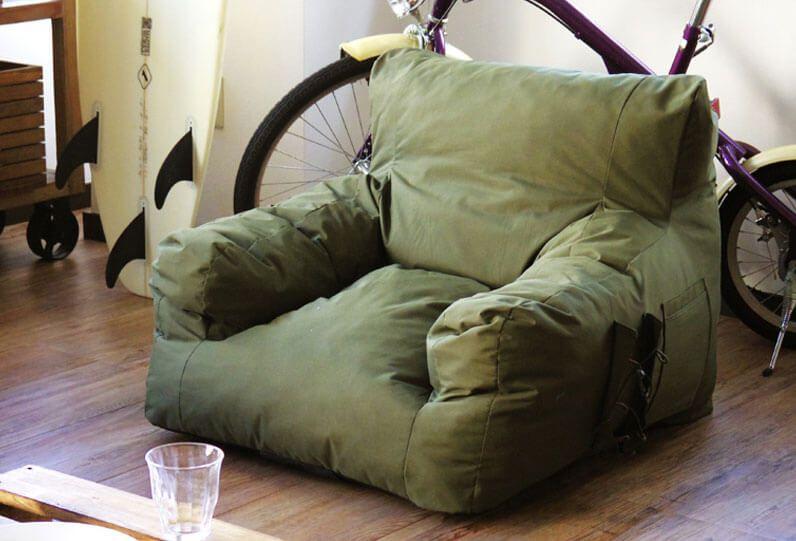Compression Garden Sofa Output Life キャンプ ソファ インテリア 家具 ソファ