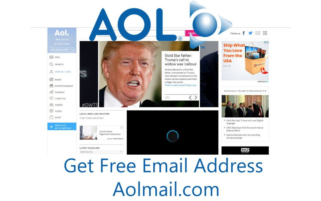 AOL Mail Get Free Email Address Free email, Aol mail