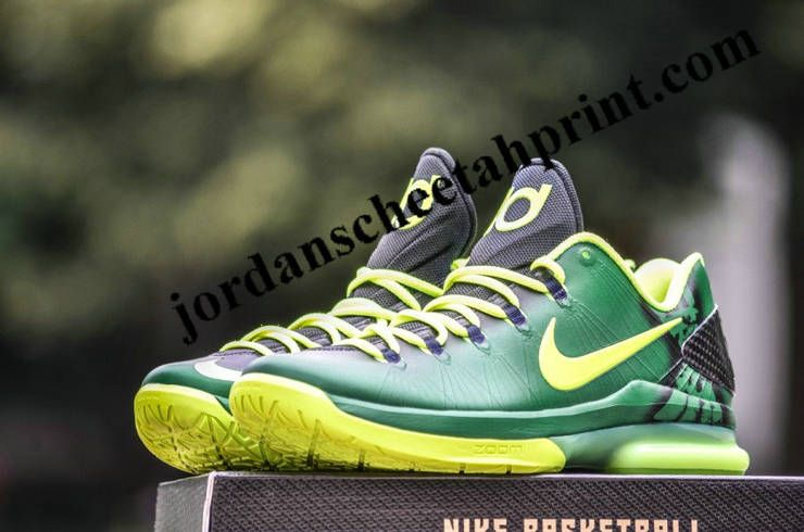 Nike KD V Elite Oregon Ducks