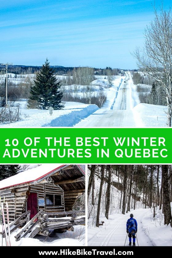 Photo of 10 of the Best Winter Adventures in Quebec – Hike Bike Travel
