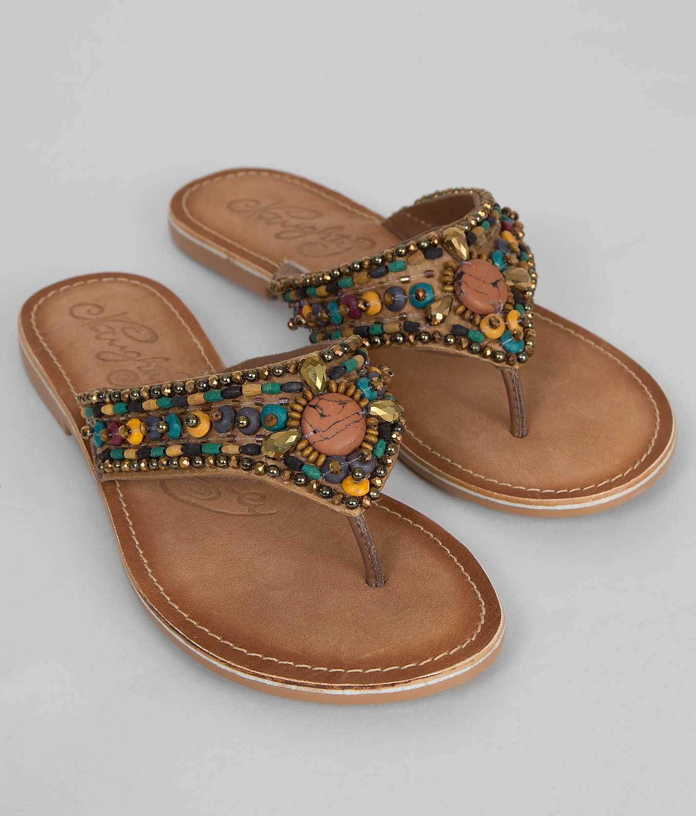 Naughty Monkey Beaded Bandit Flip - Women's Shoes | Buckle