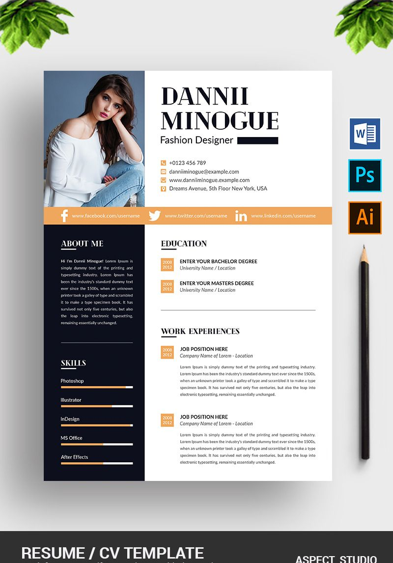 Hi there, this is a Perfect Resume Template for you! This