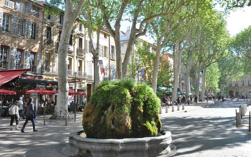 Cours Mirabeau, Aix en Provence, Bouches-du-Rhône | Voyage