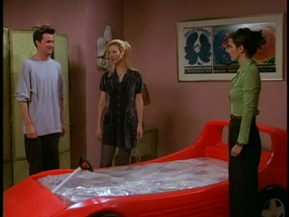 The One With The Race Car Bed Race Car Bed Friends Tv Show Friends Tv