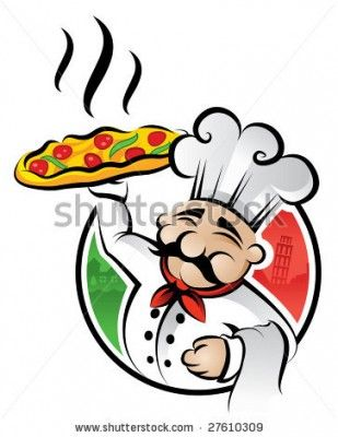 stock vector illustration of an italian cartoon chef with a freshly rh pinterest com italian food clip art pictures italian cuisine clipart