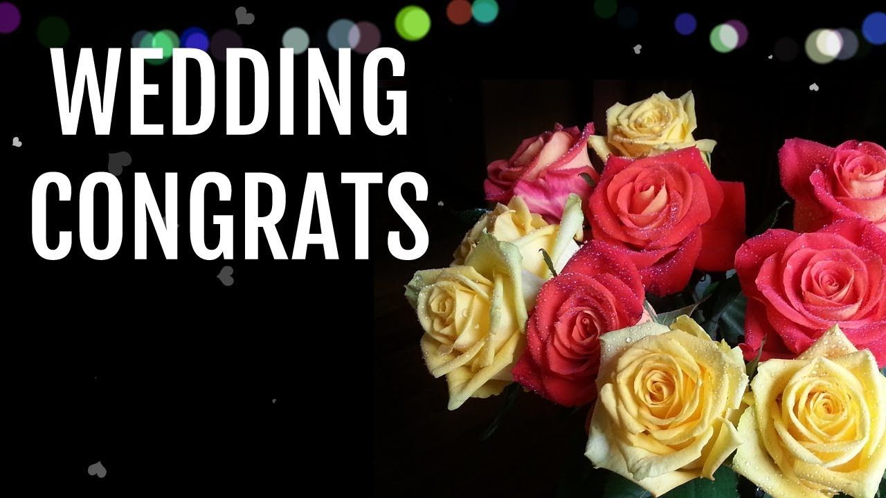 Wedding wishes for couples congratulations message for