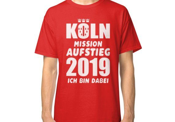 Cologne Mission Rise 2019' Classic T Shirt by Artdiktat