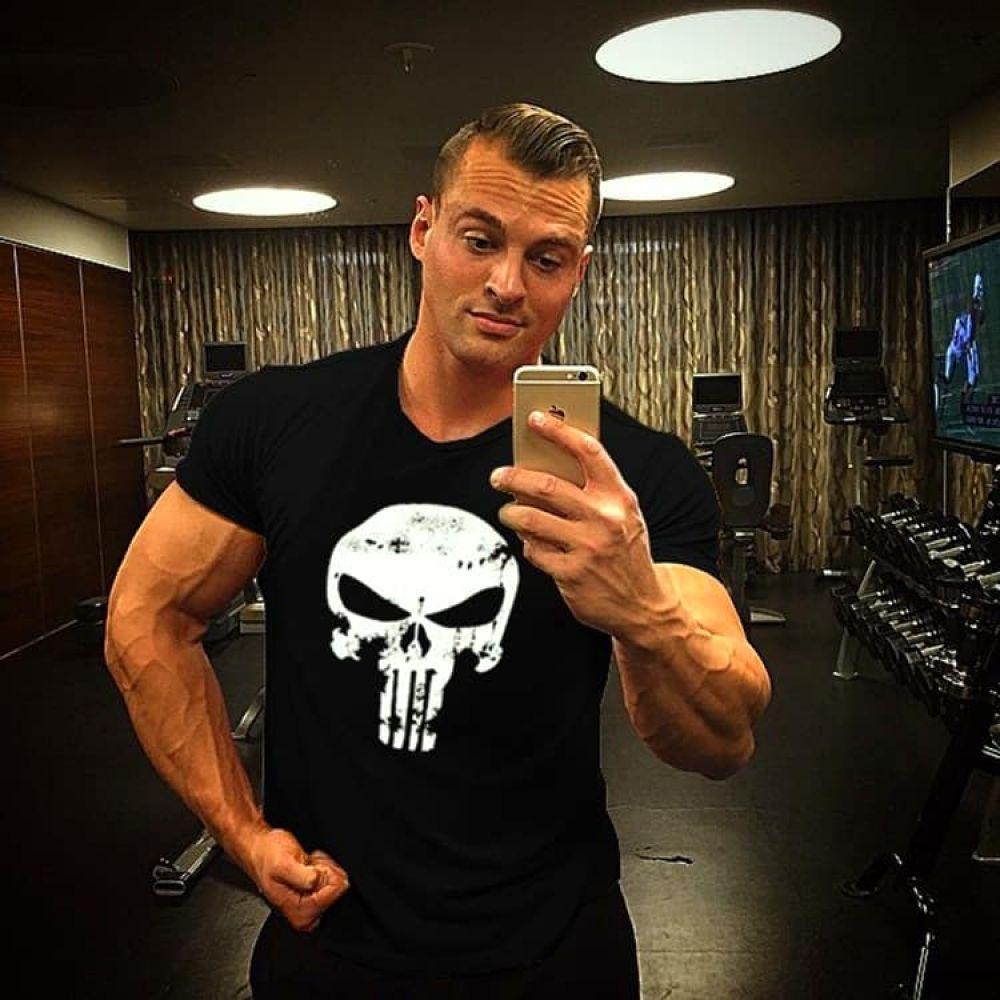 Men's Short Sleeve Sports & Fitness Cotton T Shirts - Men's Fitness Apparel, Men's Sports & Fitness...