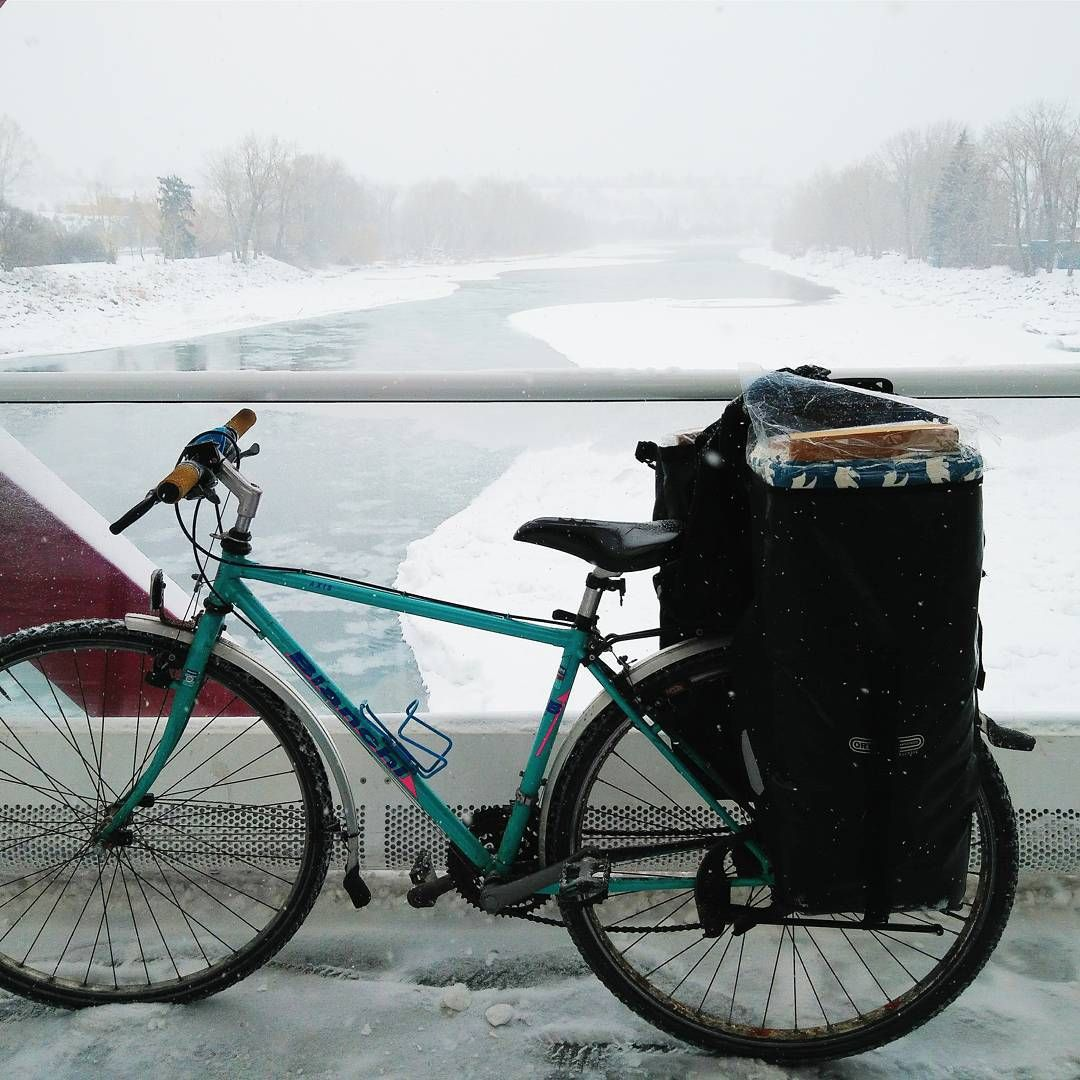 Although I'm a daily rider, it took me a while to start biking through our chilly Toronto winters. Like many cyclists, put away my beloved bike for the season. For those few months, it was agony not being able to get from place to place with the freedom and ease of a bicycle.