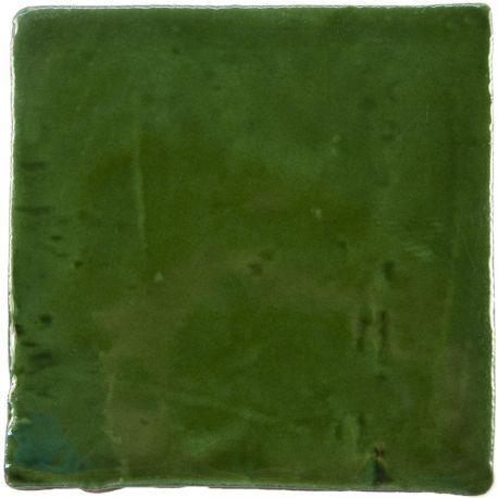 Carrelage mural ancien brillant vert 10 x 10 cm - PR0809026 | carrelage