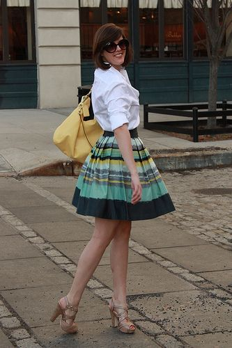 Perfect Summer Dinner Outfit AWWWWW AND I EVEN HAVE THAT SKIRT 3 LOVELY