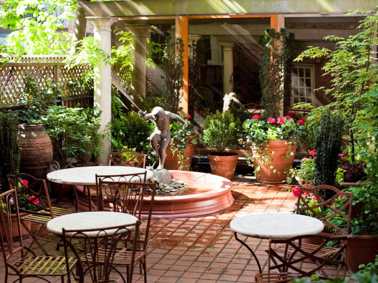 Optimize Your Small Outdoor Space | Pinterest | Hgtv, Outdoor spaces ...