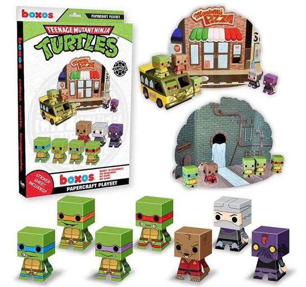 Teenage Mutant Ninja Turtles Papercraft Activity Playset Teenage Mutant Ninja Turtles Activities Teenage Mutant Ninja Turtles Teenage Mutant Ninja