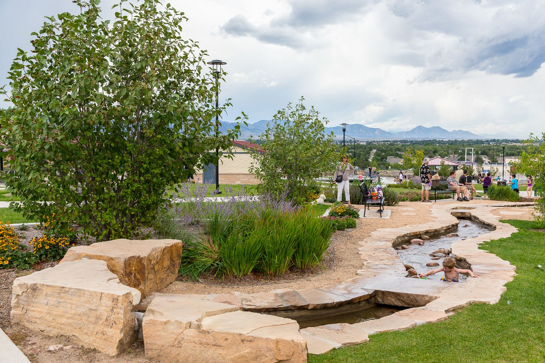 Denver Landscape Architect Park Design Playground Water Colorado Water Playground Splash Park Parking Design