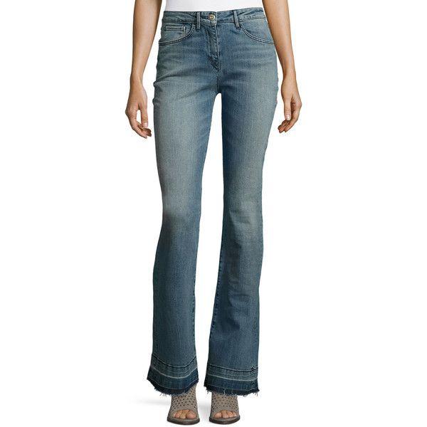 Effiloché Jeans Flare 3x1 ETlj5