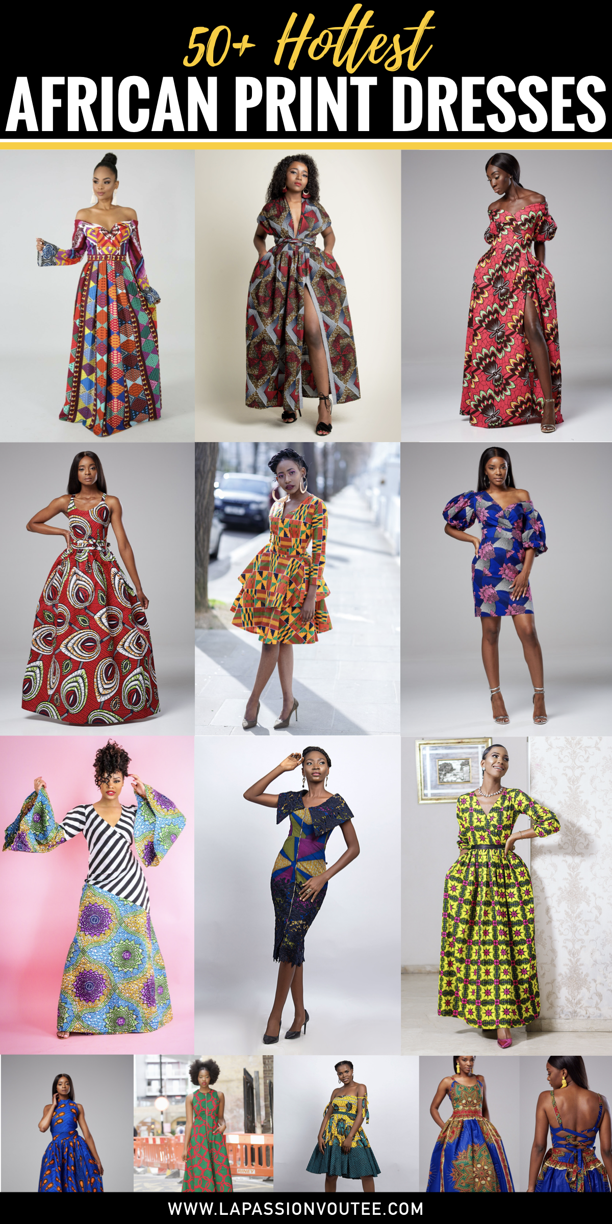 a61a5cdc9ef The best selection of over 50 best African print dresses for special  occasions. These dresses