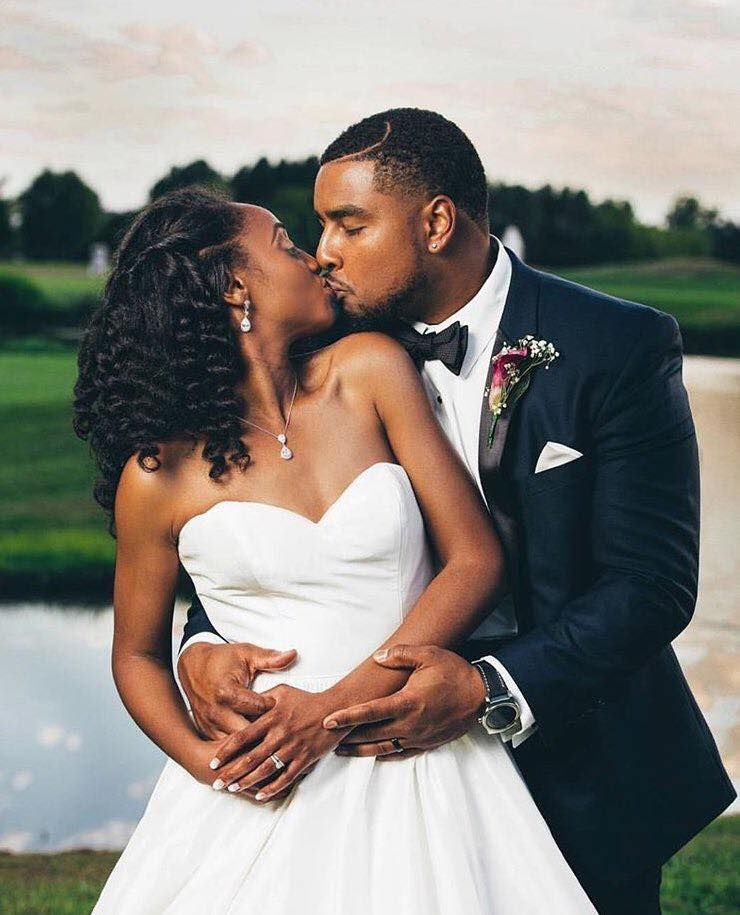 Pin By Black Queen On Black Love Black Marriage Black Love Couples Groom Portrait