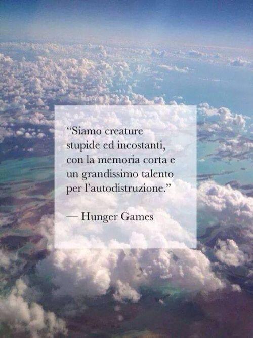 Frasi Belle Hunger Games Libro.Frasi Amore Hunger Games