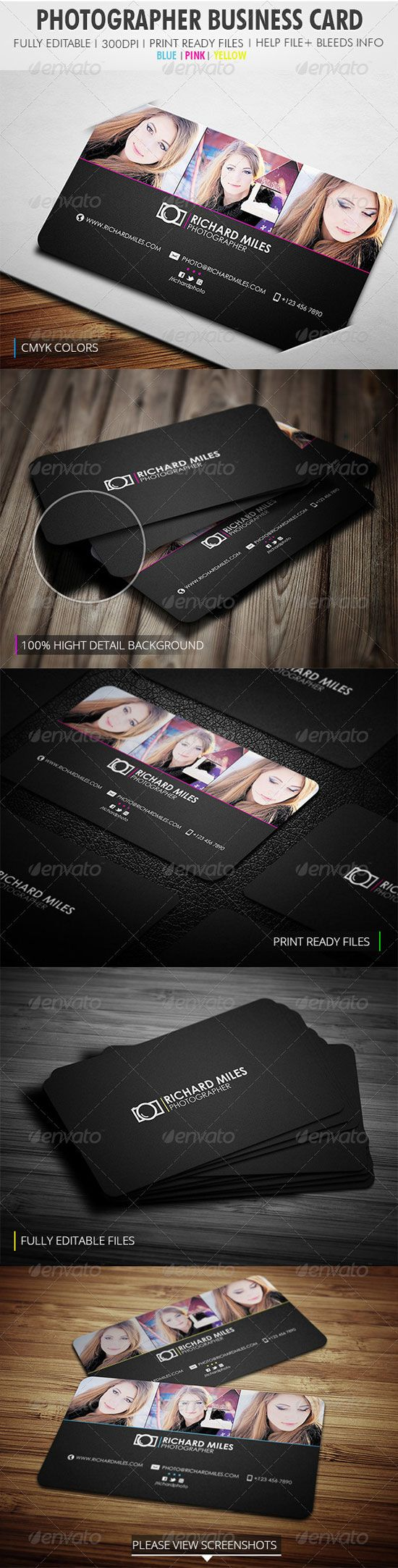 The Most Creative Photographer Business Cards | Pinterest ...