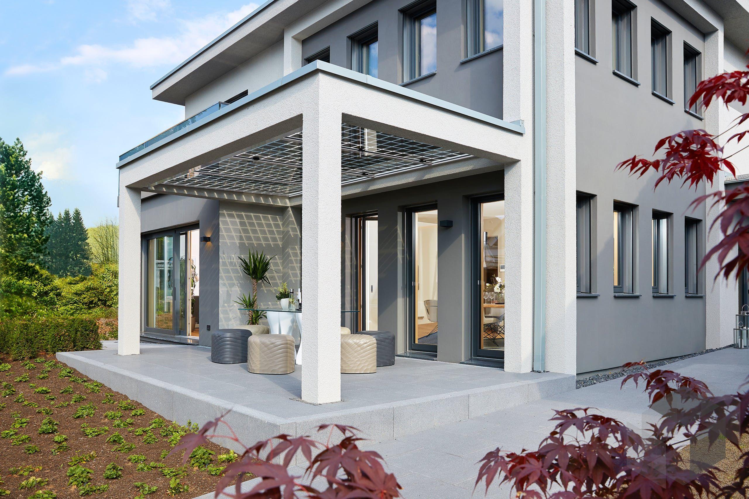 Terrassen Idee von WeberHaus Alle Infos zum Haus mit
