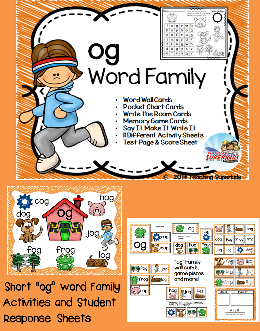 Og Word Family Centers