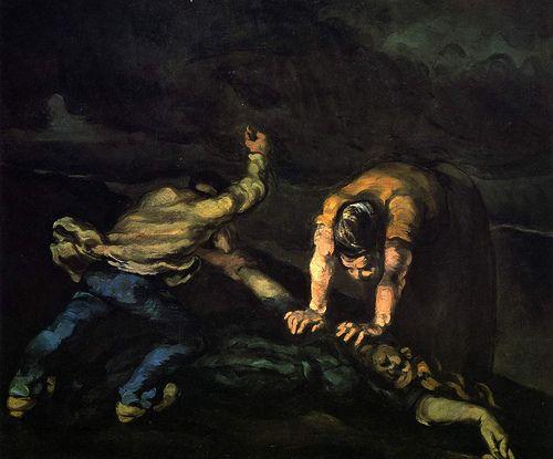Paul Cézanne, The Murder, 1867