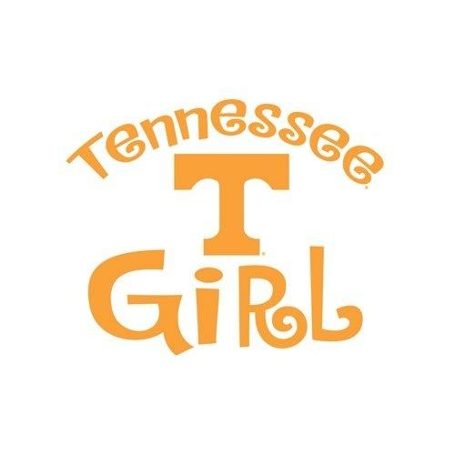 Tennessee vols sayings amazon com university of tennessee volunteers girl clear vinyl decal