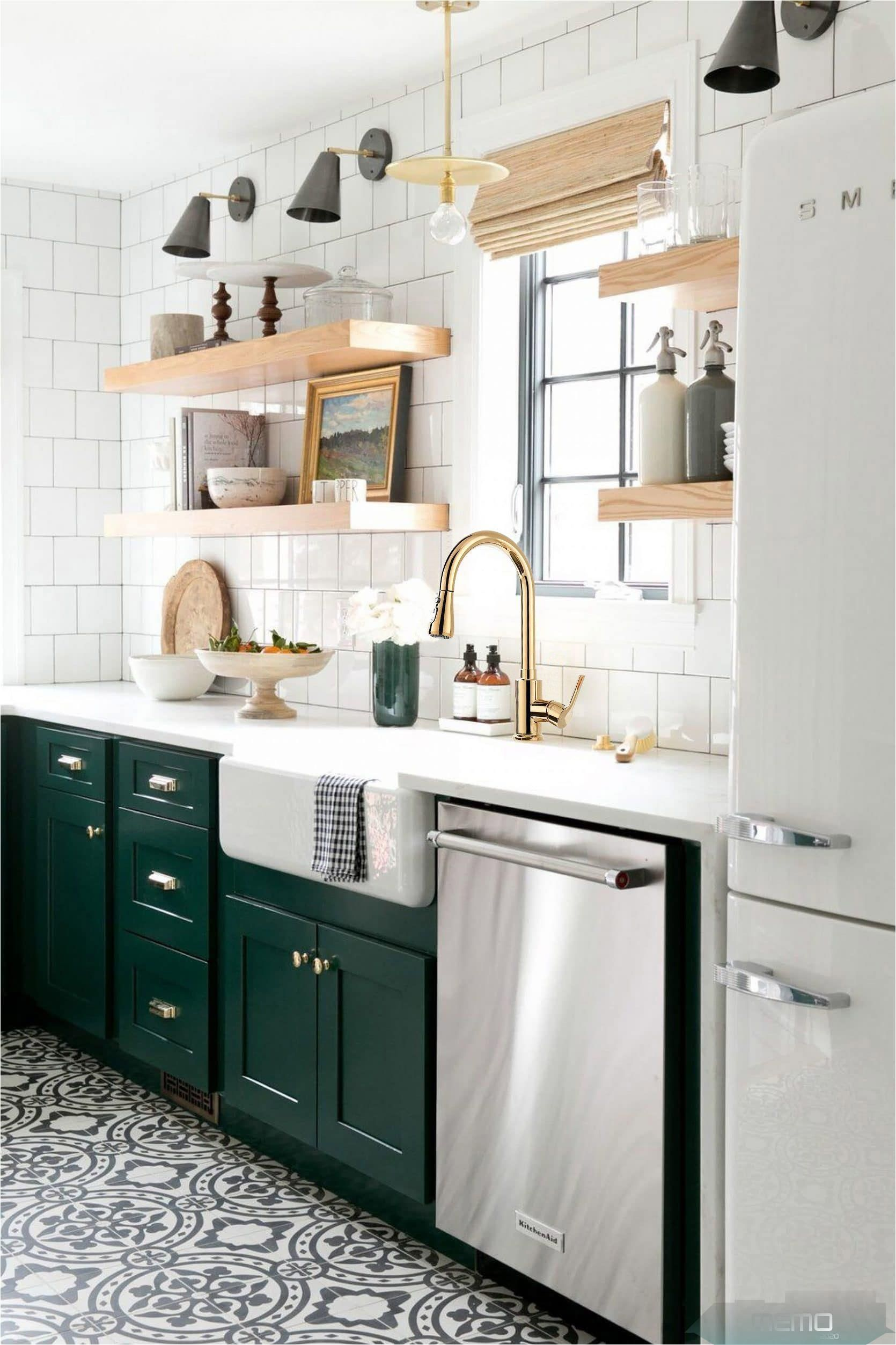 Mar 24 2020 Give A Makeover To Your Kitchen With This Modern Pullout Kitchen Faucet Featuring Smooth In 2020 Kitchen Soffit Kitchen Trends Green Kitchen Cabinets