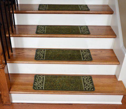 Best Dean Washable Non Skid Carpet Stair Treads Garden Path 640 x 480