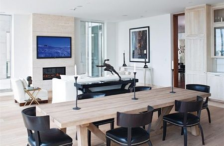 Landmark Yorkville Apartment Dining Room | via Christie's International Real Estate | House & Home