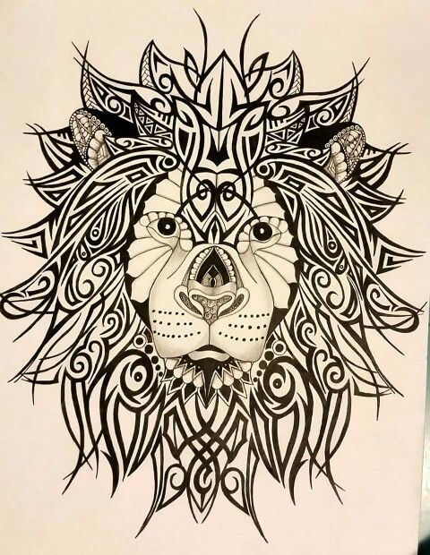 Zentangle's African, Maori  and Polynesian tribal patterns...April Nicholson-Couch