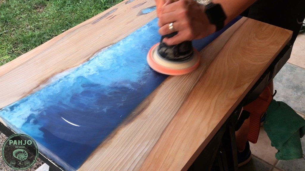 Best Finishes for Epoxy River Tables in 2020 Epoxy wood