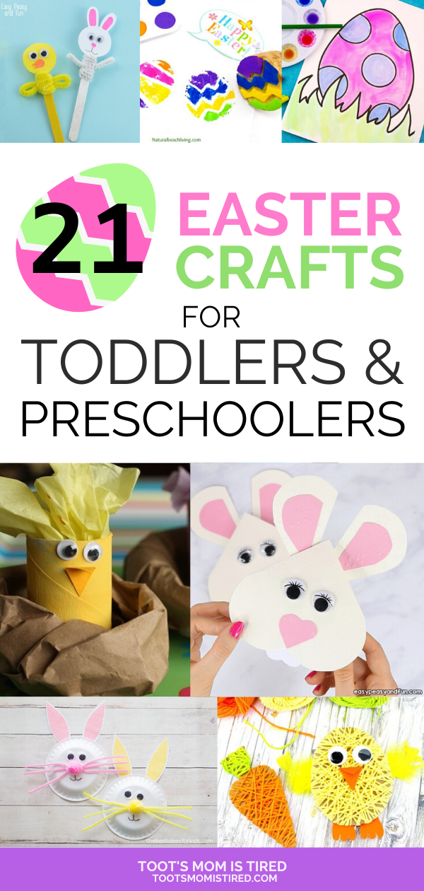 21 Easter Crafts for 3 Year Olds | Easter crafts for ...