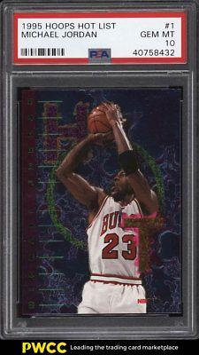 1995 Hoops Hot List Michael Jordan 1 Psa 10 Gem Mint Pwcc