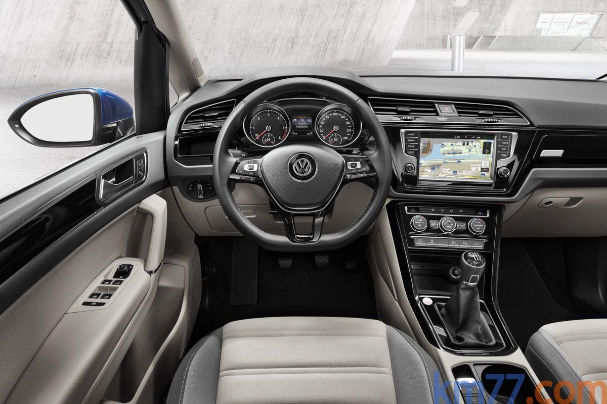 Volkswagen Touran Gama Touran Gama Touran Monovolumen Interior Salpicadero 5 Puertas Vw Touran
