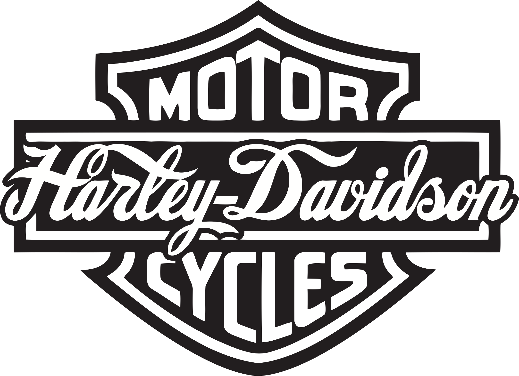 Harley Davidson Christmas Ornaments